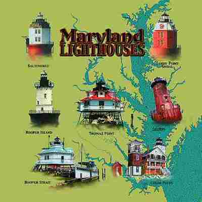 Maryland Lights Pillow