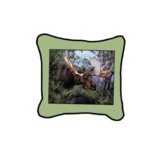 Canada Moose Pillow
