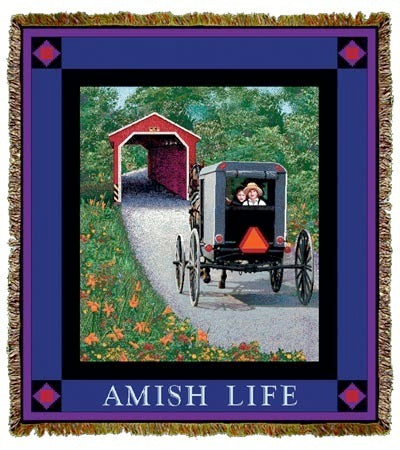 Amish Buggy Coverlet