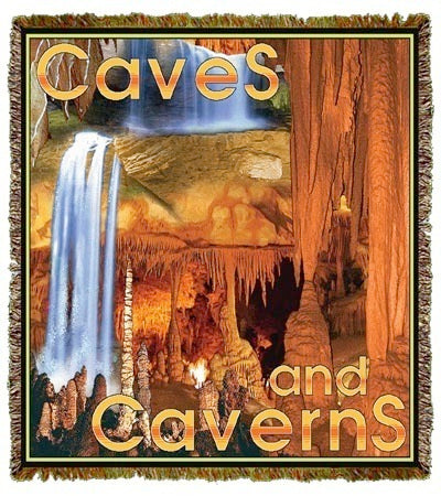 Caves & Caverns Coverlet