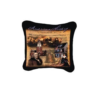 American History Pillow