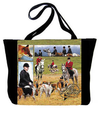 Horse the Hunt Tote Bag