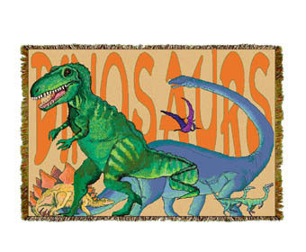 Dinosaurs Mini Coverlet