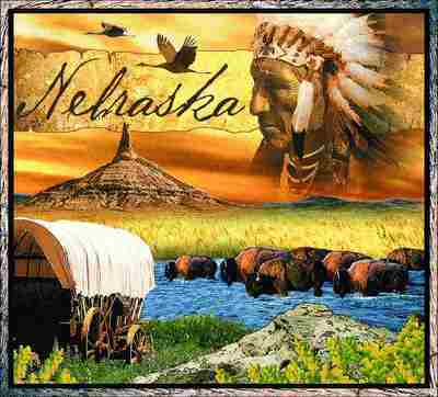 Nebraska Coverlet