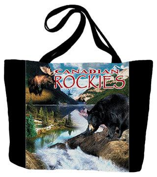 Canadian Rockies Tote Bag