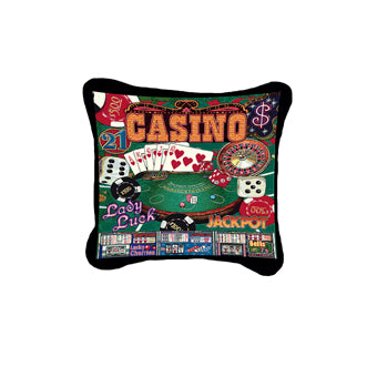 Casino Pillow