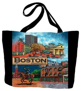 Boston, MA Tote Bag