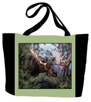 Canadian Moose Tote Bag