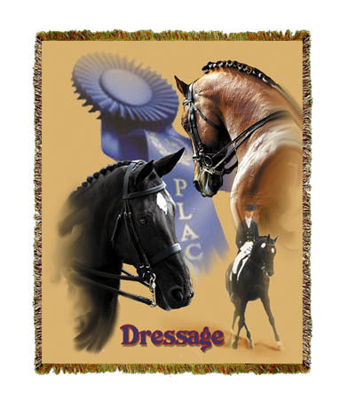 Horse Dressage Coverlet