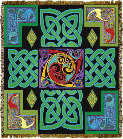 Celtic Spirit Coverlet