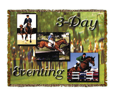 Horse 3 Day Eventing Coverlet