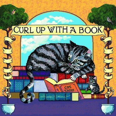 Curl up with Book Pillow