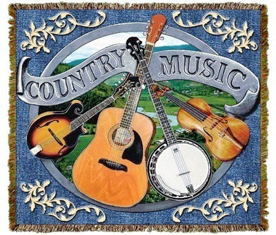 Country Music Coverlet