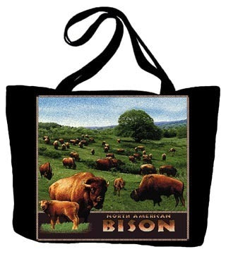 Bison North American Tote Bag