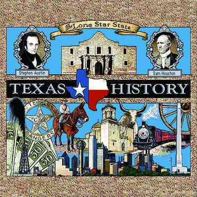 Texas History Pillow