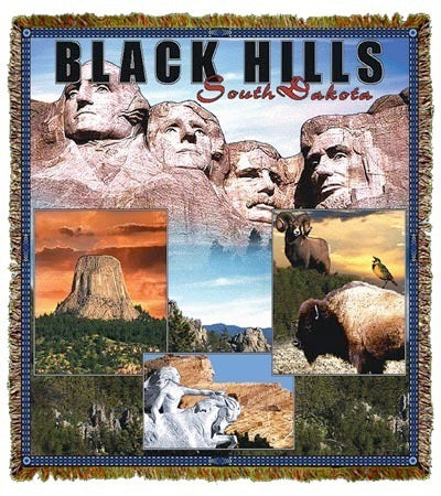 Black Hills/Rushmore, SD Coverlet