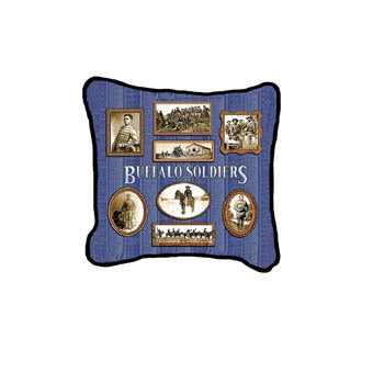 Buffalo Soldiers Pillow