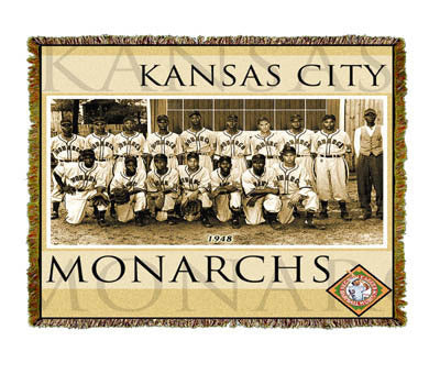 NLBM Kansas City Monarch Coverlet