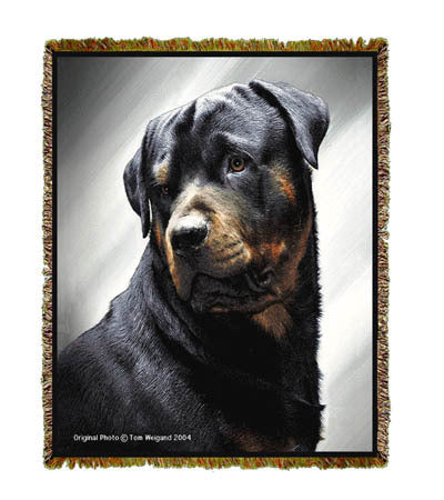 Rottweiler II Coverlet -Tom Weigand ©