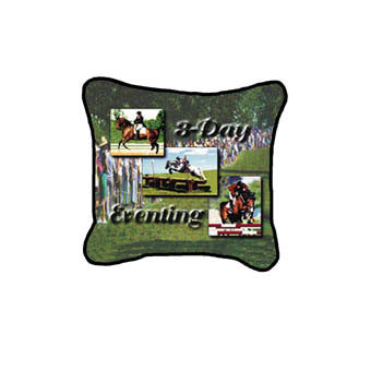 Horse 3 Day Eventing Pillow