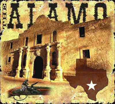 The Alamo Coverlet