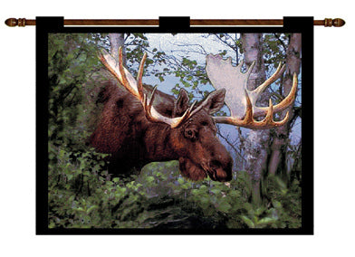 Canadian Moose Wall Hanging