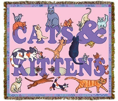 Cats & Kittens Coverlet