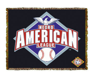 Negro League Baseball Diamond Coverlet