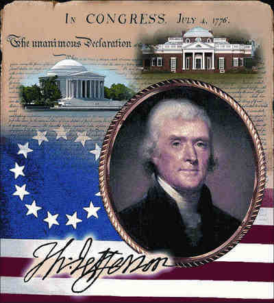 Thomas Jefferson Coverlet