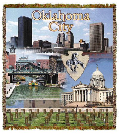 Oklahoma City, OK Coverlet