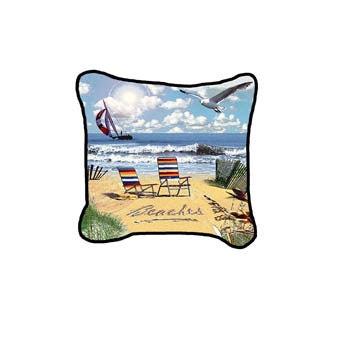 Beaches Pillow