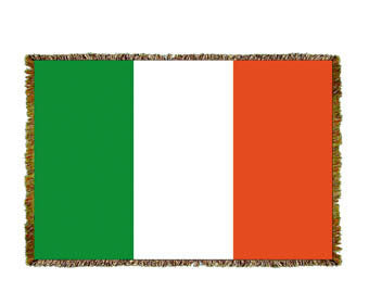 Irish Flag Mini Coverlet