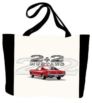 Ford Mustang 2+2 Tote Bag