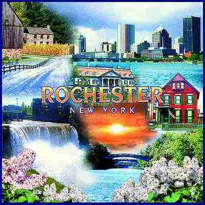 Rochester, NY Tote Bag