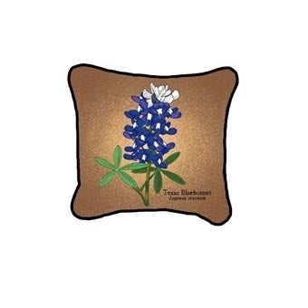 Bluebonnet Flower Pillow