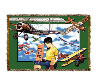 Aviation Youth Mini Coverlet