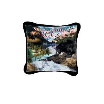 Canadian Rockies Pillow