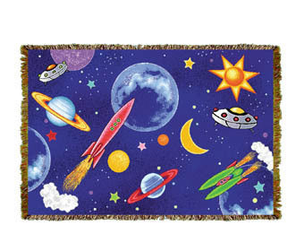 Planets Youth Mini Coverlet
