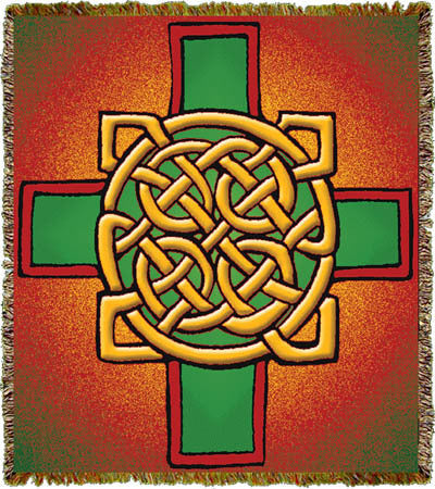 Celtic Cross Coverlet