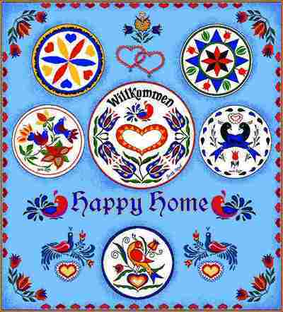 Happy Home Coverlet