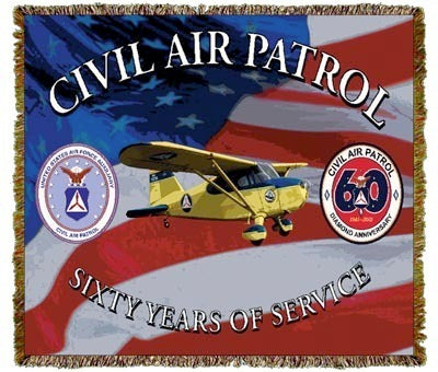 Civil Air Patrol Coverlet