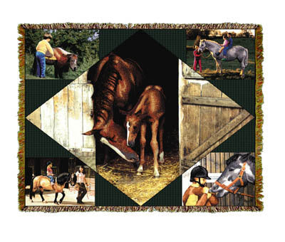 Horse Lovers Coverlet