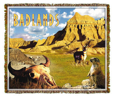 Badlands, SD Coverlet