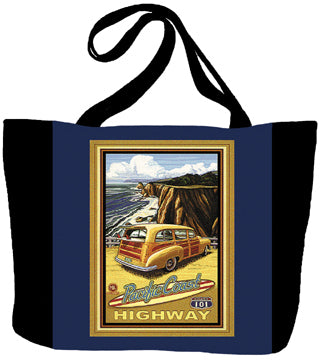Pacific Coast Highway by Paul A. Lanquist Tote Bag