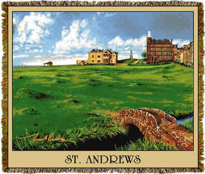 St. Andrews #18 CA Coverlet