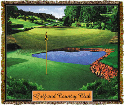 Golf & Country Club Coverlet