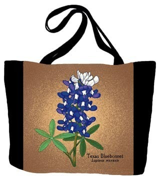 Bluebonnet Flower Tote Bag