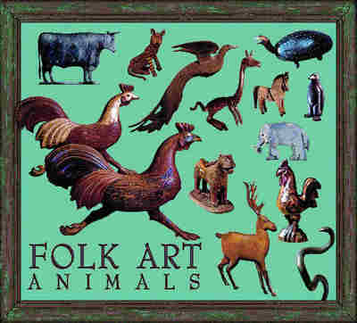 Folk Art Animals Coverlet