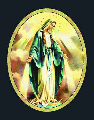 Our Lady of Grace Wallhanging