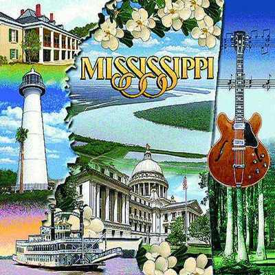 Mississippi Pillow